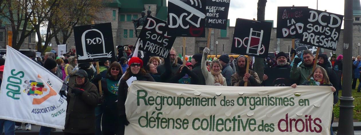 Regroupement des organismes en défense collective des droits